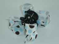 PRINTED BOW CLIP